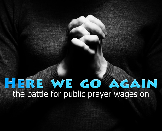 Battle for prayer