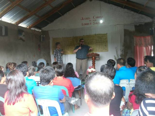 I preached on 2 Timothy 2:2 at the church dedication.