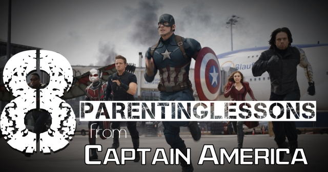 8 Parenting lessons from Captain America